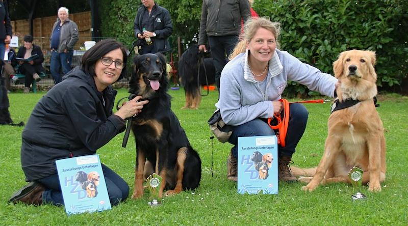 27.10.2015: Ein erfolgreiches Wochenende für die B-Wölfe! Bonnie und Bizkit gewinnen beim Verhalten II in Niederelvenich